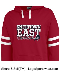 GAME DAY HOODIE FOR CHEERLEADERS- Fans welcome as well! MAKE SURE TO PUT NAME Design Zoom